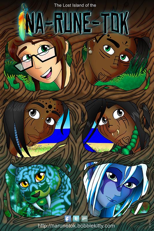 NaRuneTok Tree Teaser Poster